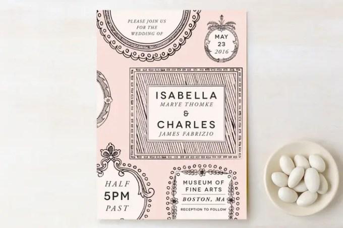 save money on wedding invitations with printables