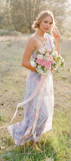 Billy | Floral Print Bridesmaid Dresses