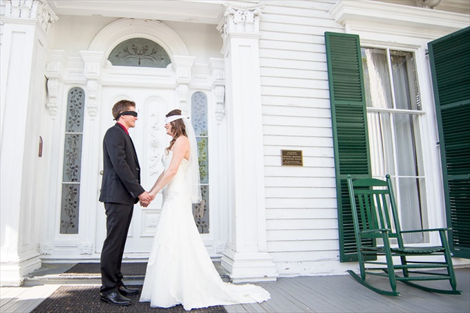 Chris Lang Photography | Real Weddings Bellamy Mansion