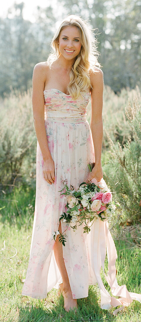 Floral Print Bridesmaid Dresses: Here\'s the Bridesmaid Dresses They Want