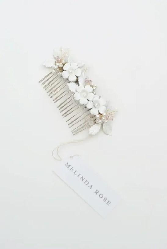 Flower Blossom Hair-Comb