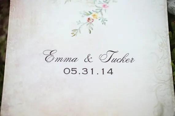 KimAnne Photography - iowa backyard wedding - wedding-date-card