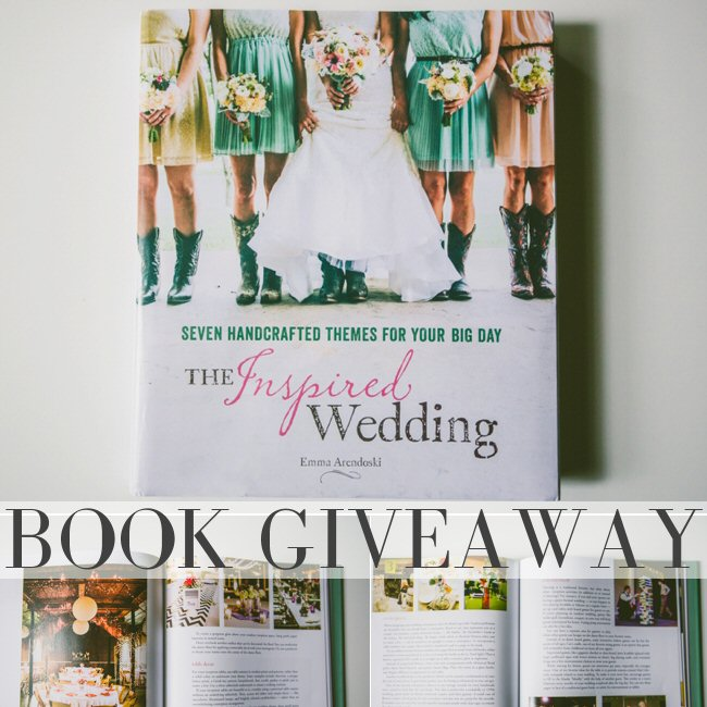 The Inspired Wedding Book Giveaway