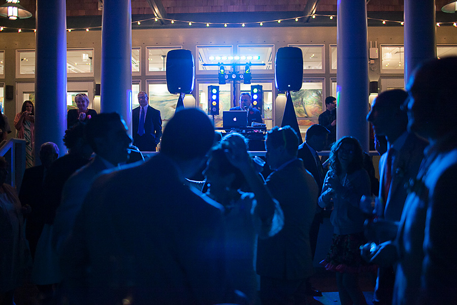 Reception Dancing - Bald Head Island - Photo by Eric Boneske