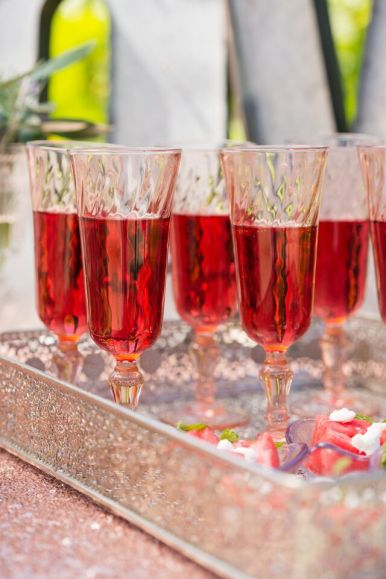 Wedding Drink - Rose