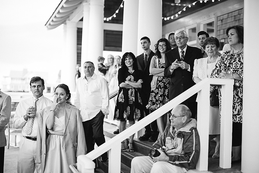 Wedding Guests - Bald Head Island - Photo by Eric Boneske