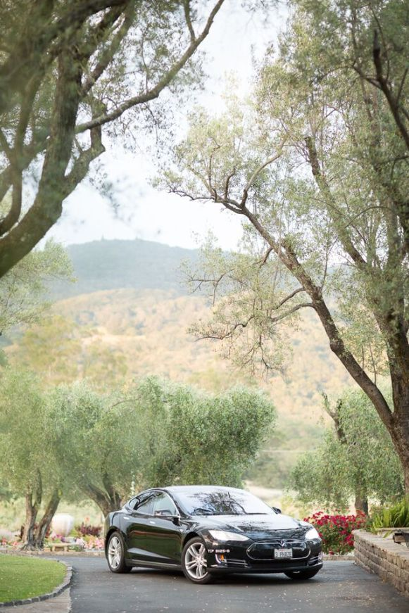 Winery Styled Wedding Shoot - The Getaway Car