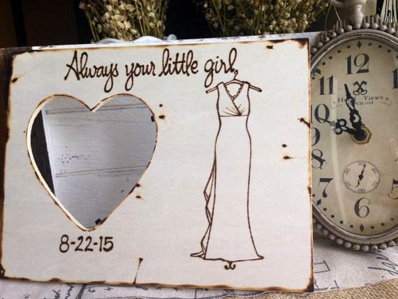 always your little girl picture frame