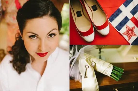 americana-wedding-brides-accessories (photo: michelle gardella)