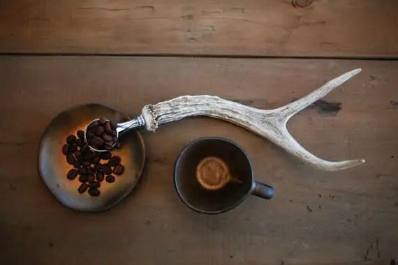 antler coffee scoop - Top Groomsmen Gift Ideas for 2014