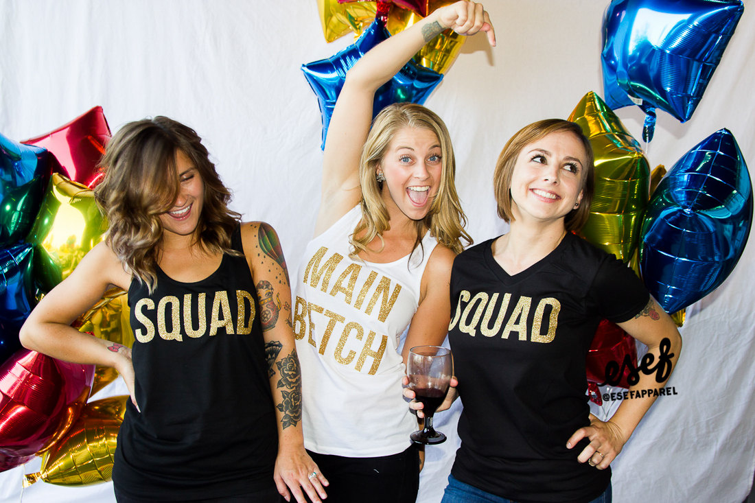 bachelorette party shirts main betch and squad | by esf apparel | fun bachelorette party ideas | http://emmalinebride.com/planning/fun-bachelorette-party-ideas/