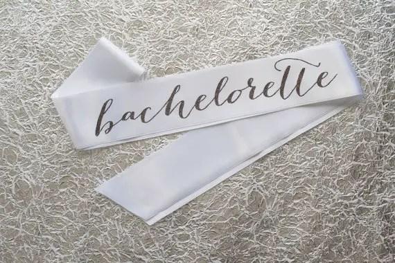 stylish bachelorette sash ideas | via http://emmalinebride.com/bride/bachelorette-sash-ideas/