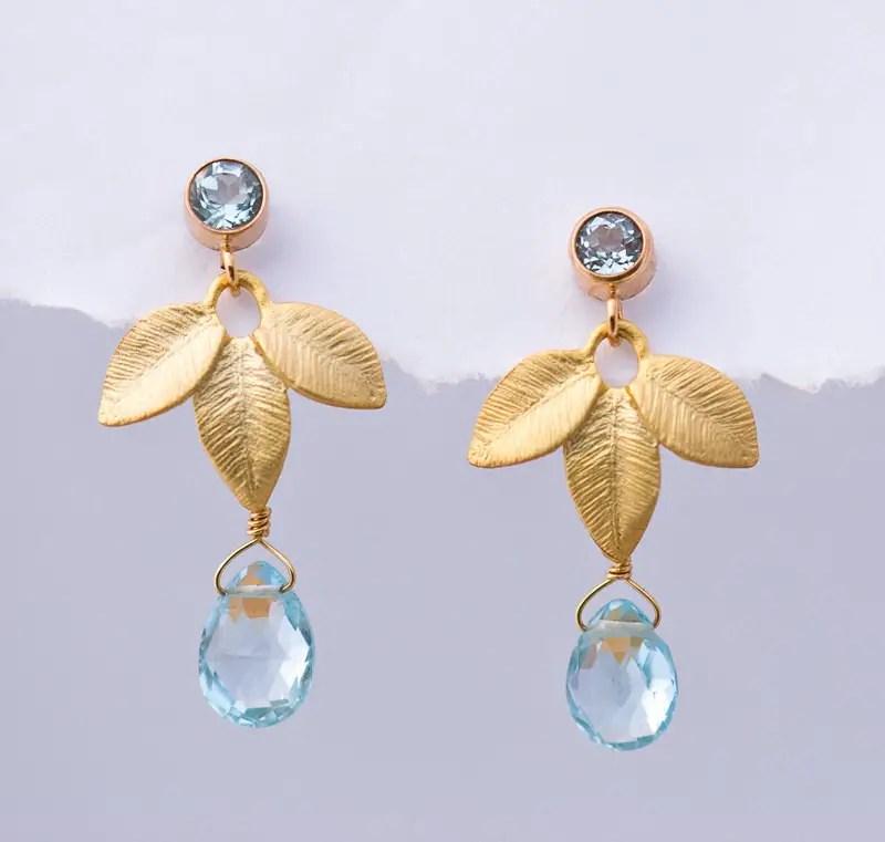 birthstone earrings | birthstone jewelry gifts | http://emmalinebride.com/gifts/birthstone-jewelry-gifts/