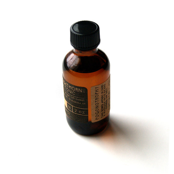 blood orange beard oil