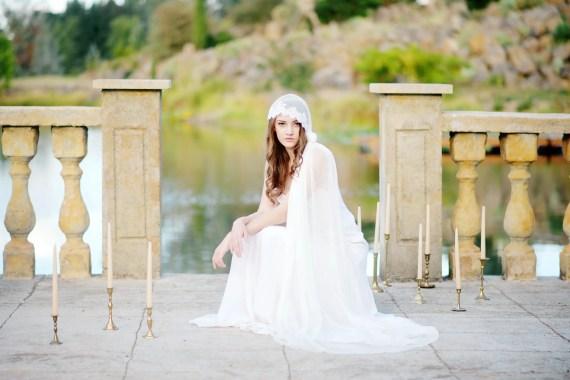 bridal cap   8 Alternative Wedding Veil Ideas from Tessa Kim