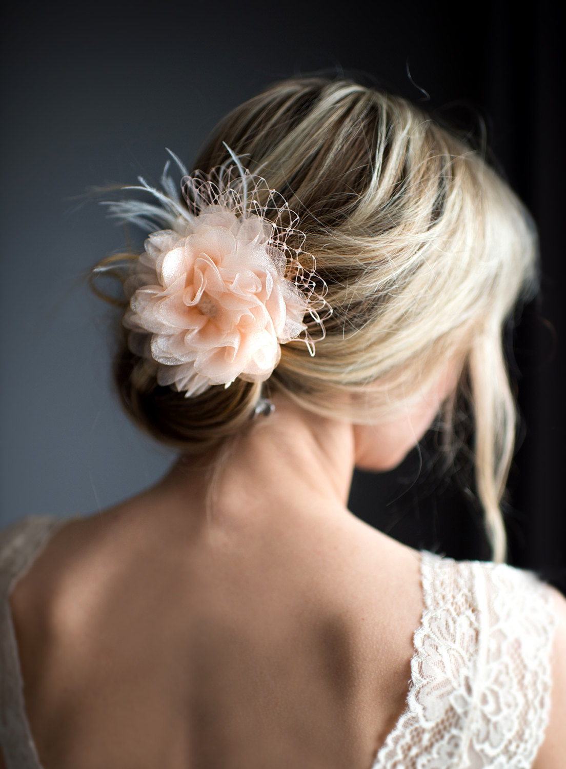 wedding hair flowers what to wear instead of a veil emmaline 9687