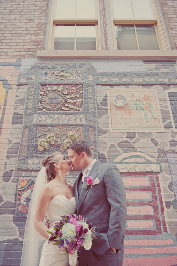 Wear a Veil or Not (via EmmalineBride.com) - photo by maria mack photography