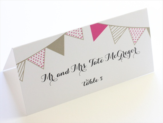 Wedding Stationery Giveaway! (place card: blush paperie)