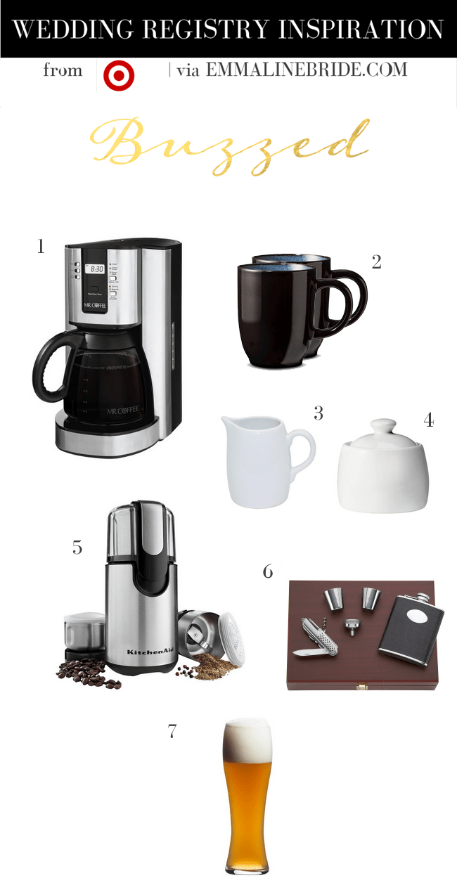 Wedding Registry Must-Haves from Target | Week Two http://emmalinebride.com/gifts/registry-must-haves-target-buzzed/ width=