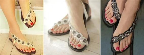 cascade summer sandals