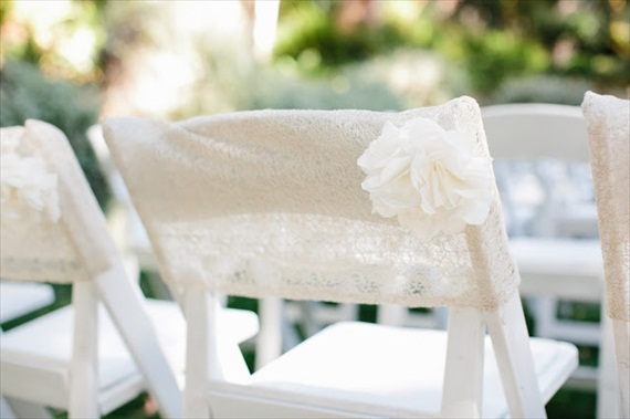 7 Stylish Ways To Cover Your Wedding Chairs