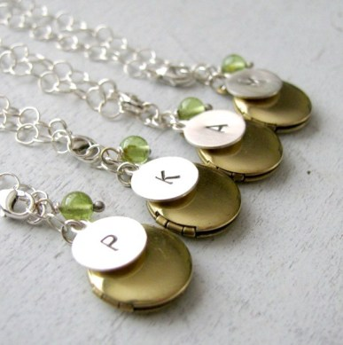 charm lockets for bridesmaids larger