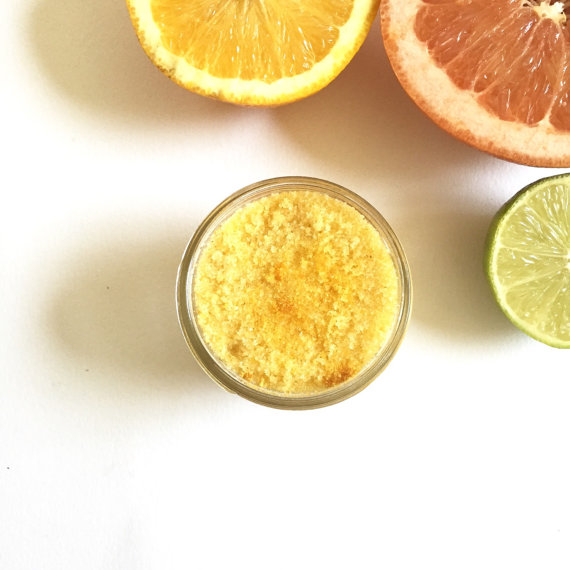 citrus bath scrub | bachelorette spa party http://emmalinebride.com/bachelorette/spa-party/