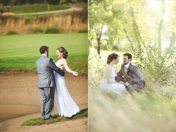 Matthew Steed Wilson Photography - groom holding bride first look - scrabble themed wedding