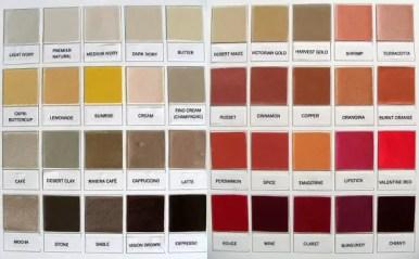 color palette for vintage wedding shoes