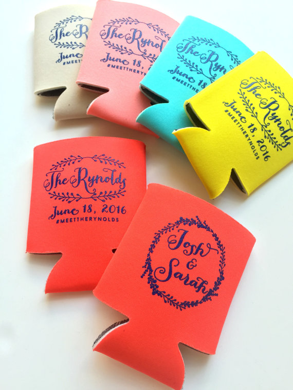 colorful drink koozies by sip hip hooray