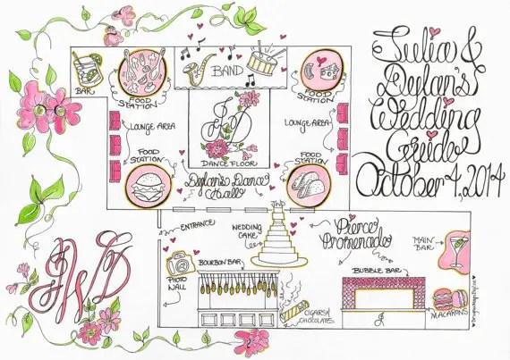 Wedding Invitation Giveaway: Custom Map For Wedding Invitation Giveaway