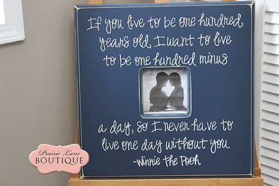 Custom Wedding Frames (by Prairie Lane Boutique via EmmalineBride.com) #handmade #wedding