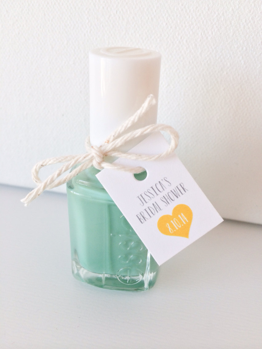 Nail Polish Bridal Shower Favors: Cute DIY Idea