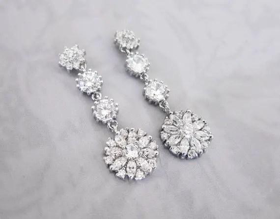 daisy earrings by lottie da designs | daisy ideas theme weddings
