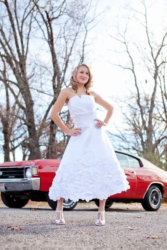 daisy wedding dress by the peppermint pretty