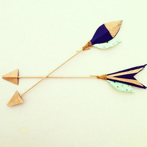 decorative arrow wedding decor