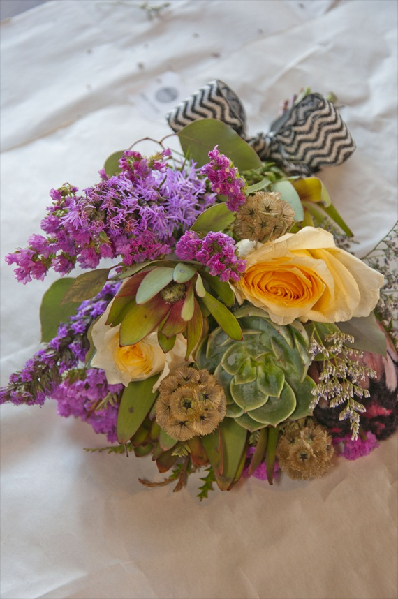 How To Make A Bohemian Wedding Bouquet