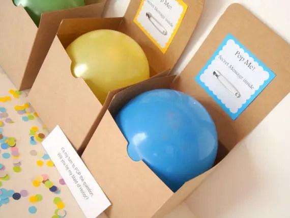 diy pop the balloon kit