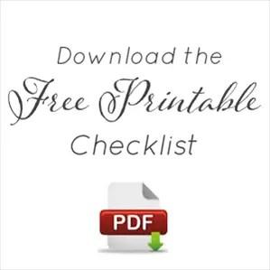 download - Wedding Day Checklist Printable