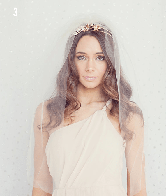 Wedding Veil Styles: The Ultimate Guide (Part One) - elbow length veil by le chic studio, photo by maria mack