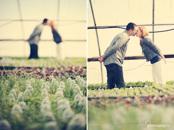 20 Best Engagement Photo Ideas: The Greenhouse (by Michelle Gardella)
