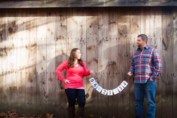 Red Sox Engagement Session:  Megan + Mark - Reiman Photography