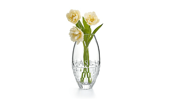 engraved vase - Wedding Day Gifts for Mom