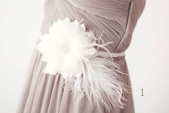 feather sash