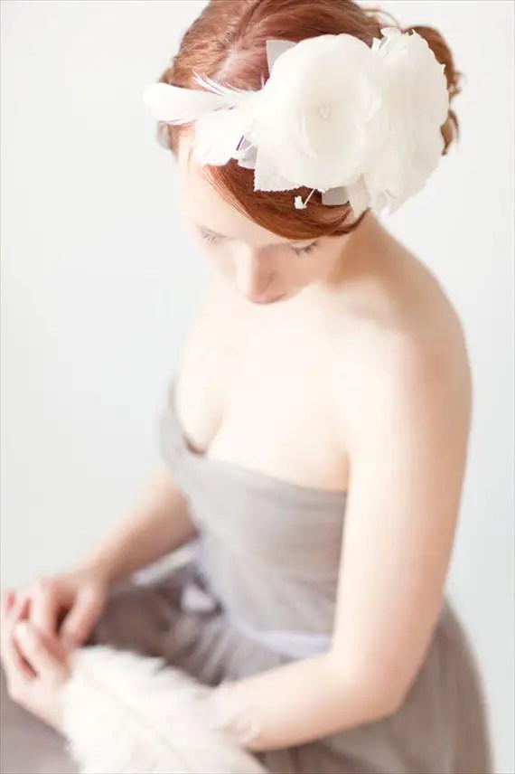 Wedding Halo Headbands & Crowns (headband: sibo designs)