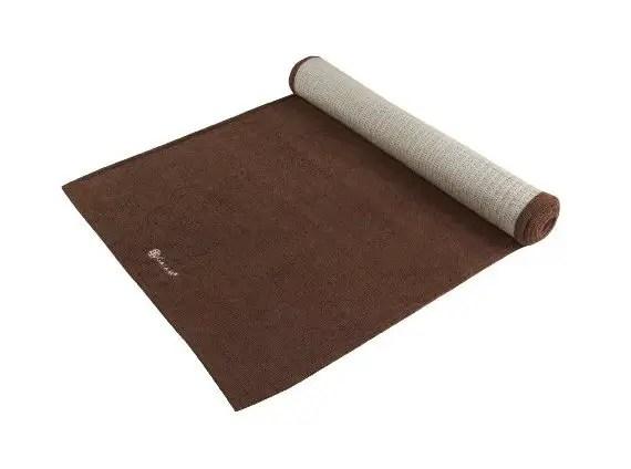 Top 20 Fitness Accessories (via EmmalineBride.com): #15 A Yoga Towel That's Also a Mat