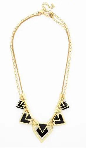 gatsby bridesmaid necklace