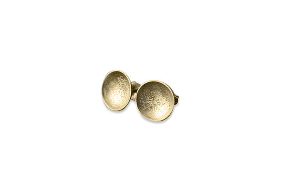 Gold Wedding Inspiration (gold stardust cup earrings)