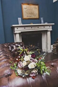 gorgeous bohemian inspired wedding bouquet