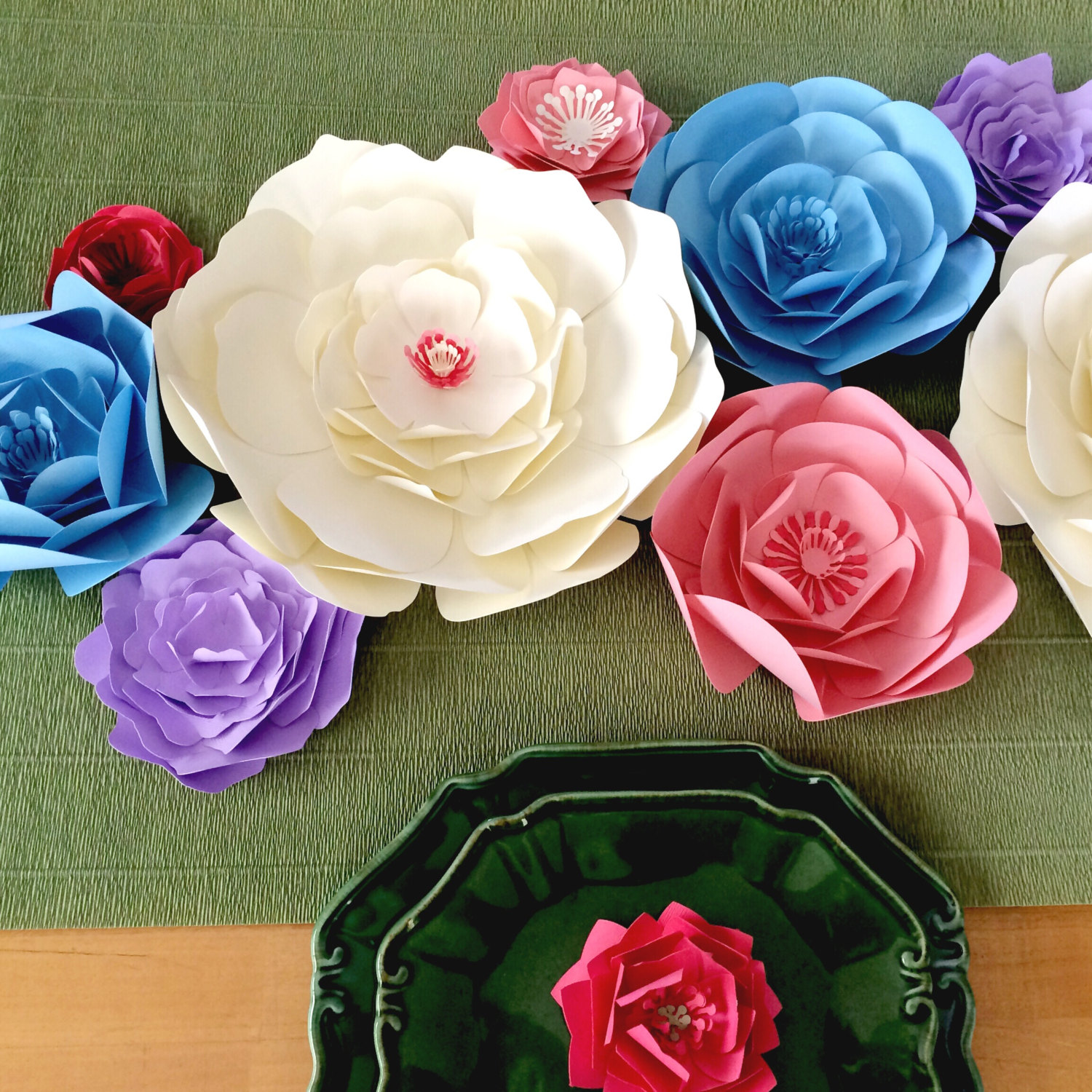 Why Paper Flowers Make A Stunning Backdrop For Weddings